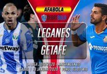 Prediksi Leganes vs Getafe 18 Januari 2020