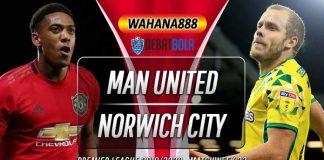 Prediksi Manchester United vs Norwich City 11 Januari 2020
