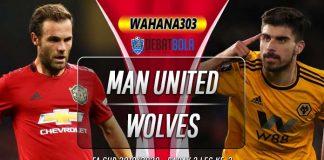 Prediksi Manchester United vs Wolves 16 Januari 2020