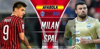Prediksi Milan vs SPAL 16 Januari 2020