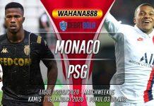Prediksi Monaco vs PSG 16 Januari 2020