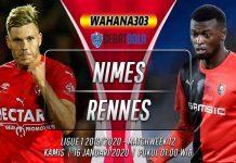 Prediksi Nimes vs Rennes 16 Januari 2020