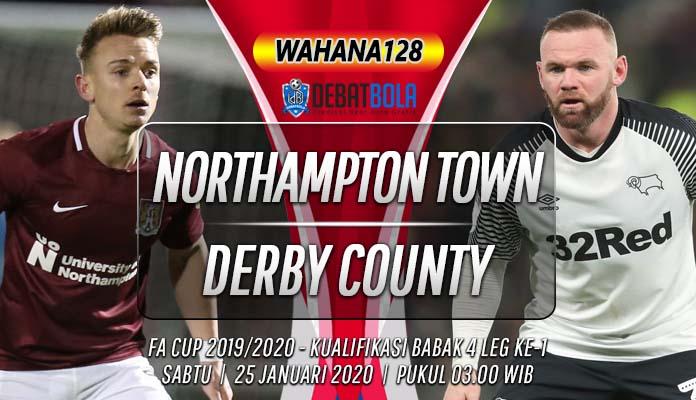 Prediksi Northampton Town vs Derby County 25 Januari 2020