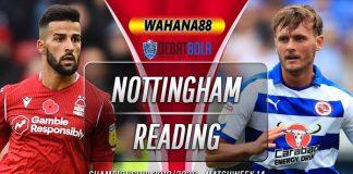 Prediksi Nottingham Forest vs Reading 23 Januari 2020
