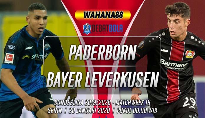 Prediksi Paderborn vs Bayer Leverkusen 20 Januari 2020