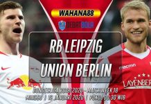 Prediksi RB Leipzig vs Union Berlin 19 Januari 2020