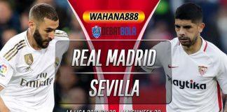 Prediksi Real Madrid vs Sevilla 18 Januari 2020