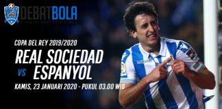 Prediksi Real Sociedad vs Espanyol 23 Januari 2020