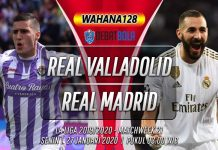 Prediksi Real Valladolid vs Real Madrid 27 Januari 2020