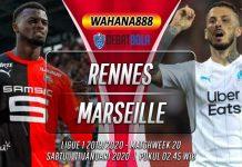 Prediksi Rennes vs Marseille 11 Januari 2020