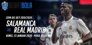 Prediksi Salamanca vs Real Madrid 23 Januari 2020