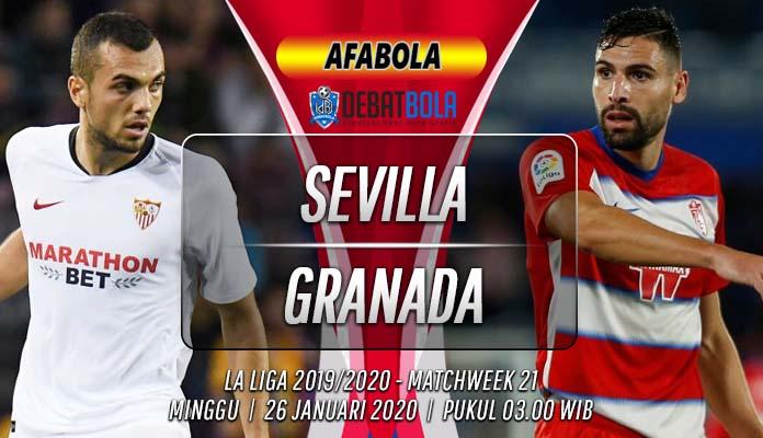 Prediksi Sevilla vs Granada 26 Januari 2020