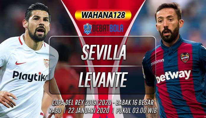 Prediksi Sevilla vs Levante 22 Januari 2020