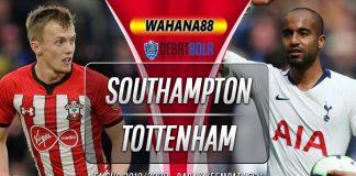 Prediksi Southampton vs Tottenham Hotspur 25 Januari 2020