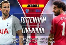 Prediksi Tottenham vs Liverpool 12 Januari 2020