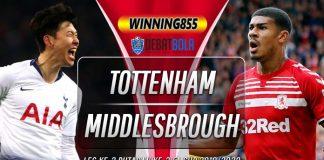 Prediksi Tottenham vs Middlesbrough 15 Januari 2020