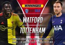 Prediksi Watford vs Tottenham 18 Januari 2020