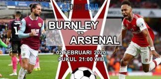 BURNLEY VS ARSENAL 02 FEBRUARI