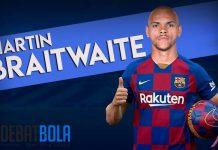Braithwaite Yakin Bisa Cocok dengan Permainan Barcelona