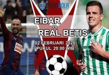 Prediksi Eibar vs Real Betis 2 Februari 2020