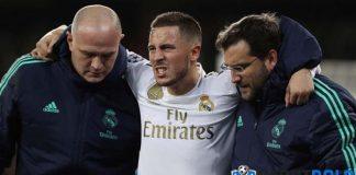 Eden Hazard Berpotensi Absen Sampai Akhir Musim