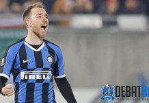 Gol Perdana Eriksen untuk Inter