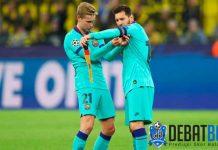 Lionel Messi Memudahkan Barcelona