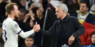 Mourinho, Eriksen Memang Tak Ingin Bertahan di Spurs