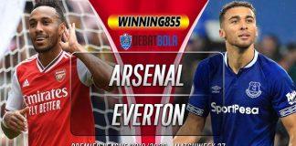 Prediksi Arsenal vs Everton 23 Februari 2020