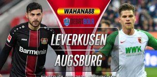 Prediksi Bayer Leverkusen vs Augsburg 23 Februari 2020