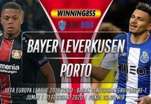 Prediksi Bayer Leverkusen vs Porto 21 Februari 2020