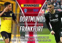 Prediksi Borussia Dortmund vs Frankfurt 15 Februari 2020