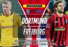 Prediksi Borussia Dortmund vs Freiburg 29 Februari 2020