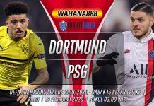 Prediksi Borussia Dortmund vs PSG 19 Februari 2020