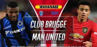 Prediksi Club Brugge vs Manchester United 21 Februari 2020