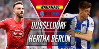 Prediksi Fortuna Dusseldorf vs Herta Berlin 29 Februari 2020