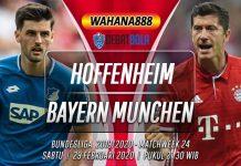 Prediksi Hoffenheim vs Bayern Munchen 29 Februari 2020