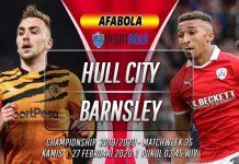 Prediksi Hull City vs Barnsley 27 Februari 2020