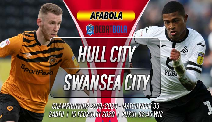 Prediksi Hull City vs Swansea City 15 Februari 2020