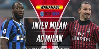 Prediksi Inter Milan vs Milan 10 Februari 2020