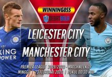 Prediksi Leicester City vs Manchester City 23 Februari 2020