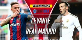 Prediksi Levante vs Real Madrid 23 Februari 2020