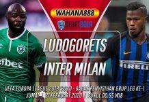 Prediksi Ludogorets vs Inter Milan 21 Februari 2020