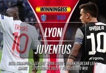 Prediksi Lyon vs Juventus 27 Februari 2020
