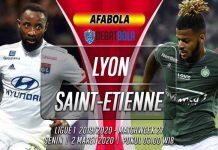 Prediksi Lyon vs Saint Etienne 2 Maret 2020