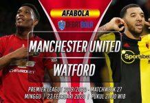 Prediksi Manchester United vs Watford 23 Februari 2020