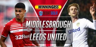 Prediksi Middlesbrough vs Leeds United 27 Februari 2020