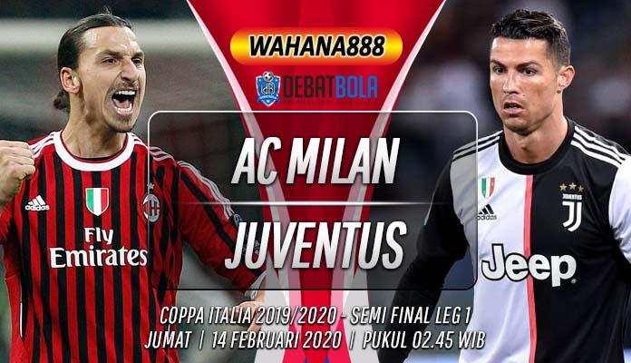 Prediksi Milan vs Juventus 14 Februari 2020