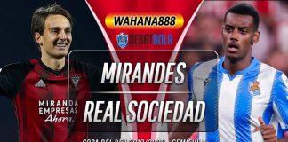 Prediksi Mirandes vs Real Sociedad 5 Maret 2020