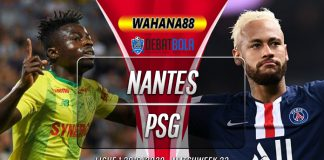 Prediksi Nantes vs PSG 5 Februari 2020